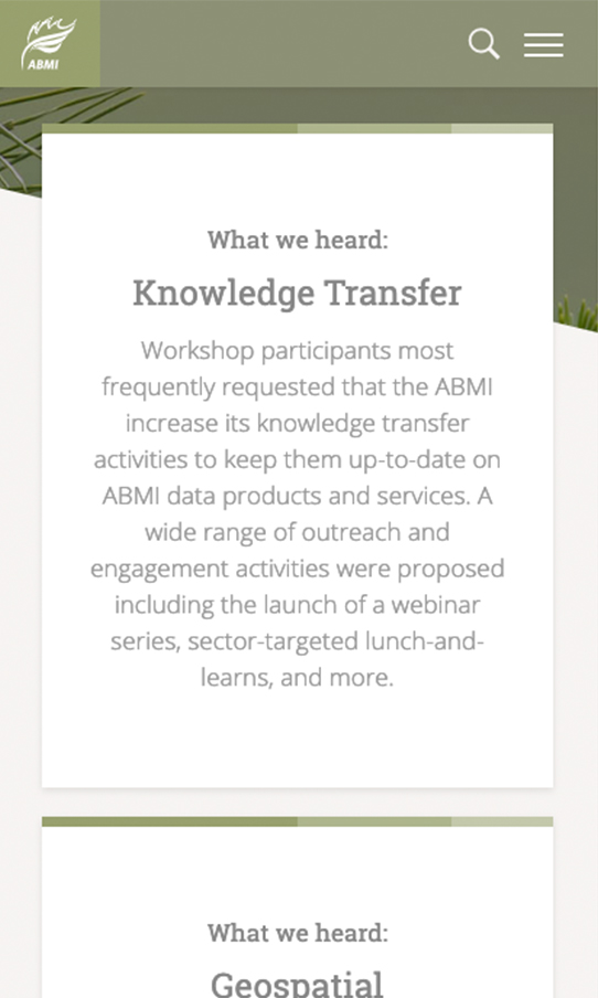 ABMI10Year Mobile Knowledge