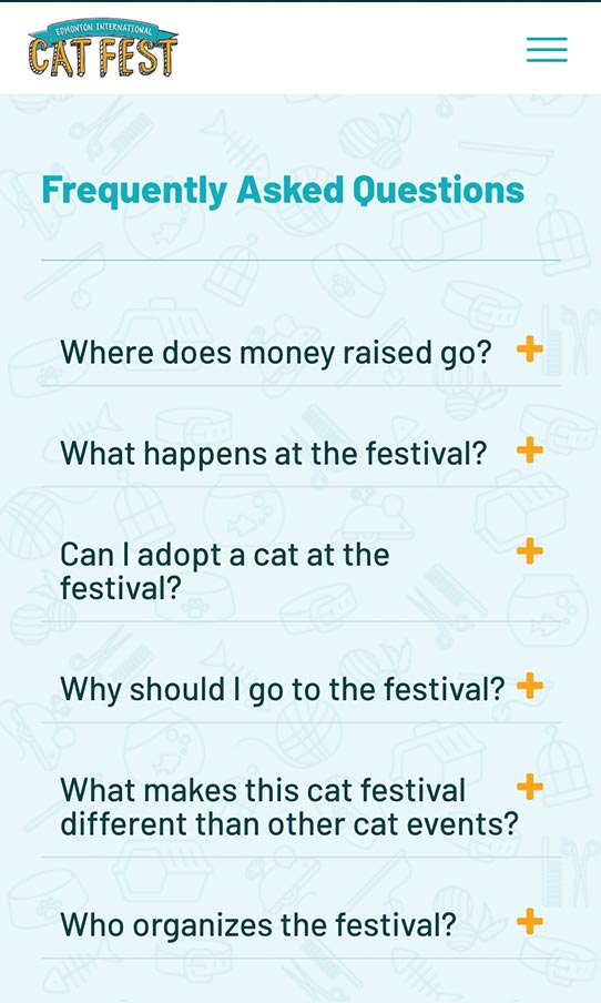 Cat Fest Mobile FAQ