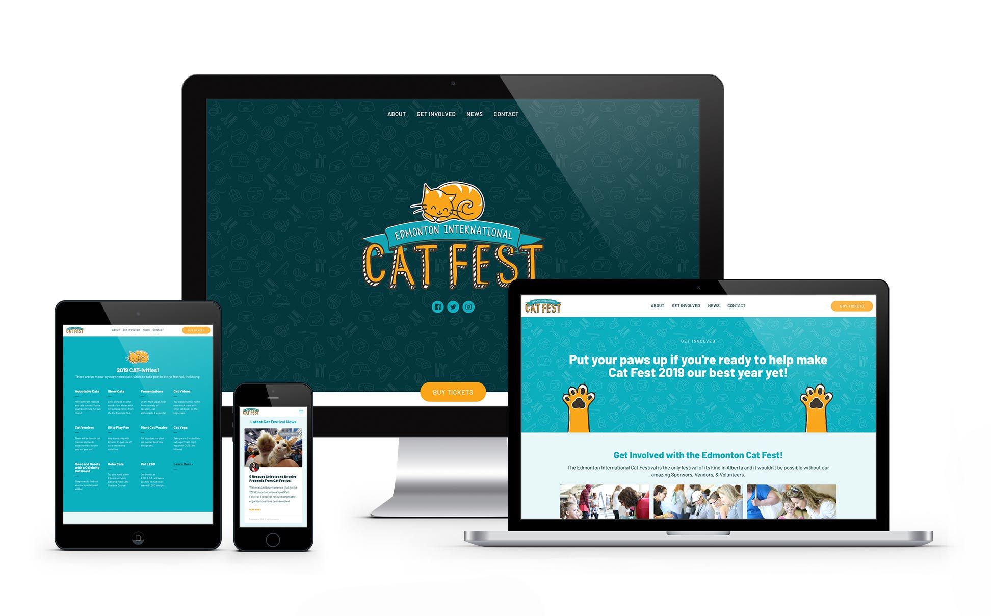CatFest DeviceMock FOOTER