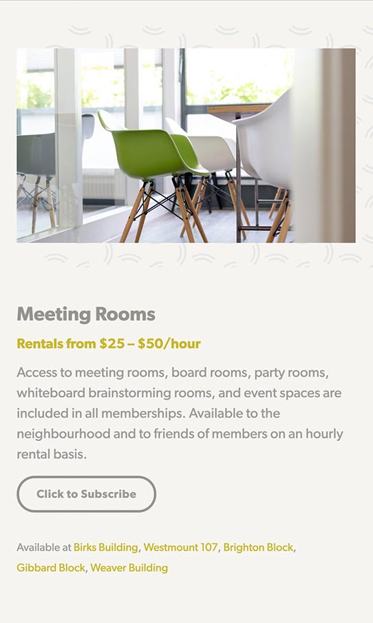 SparrowSpaces Mobile meeting rooms