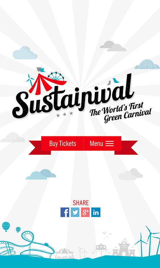Sustainival Mobile Screen