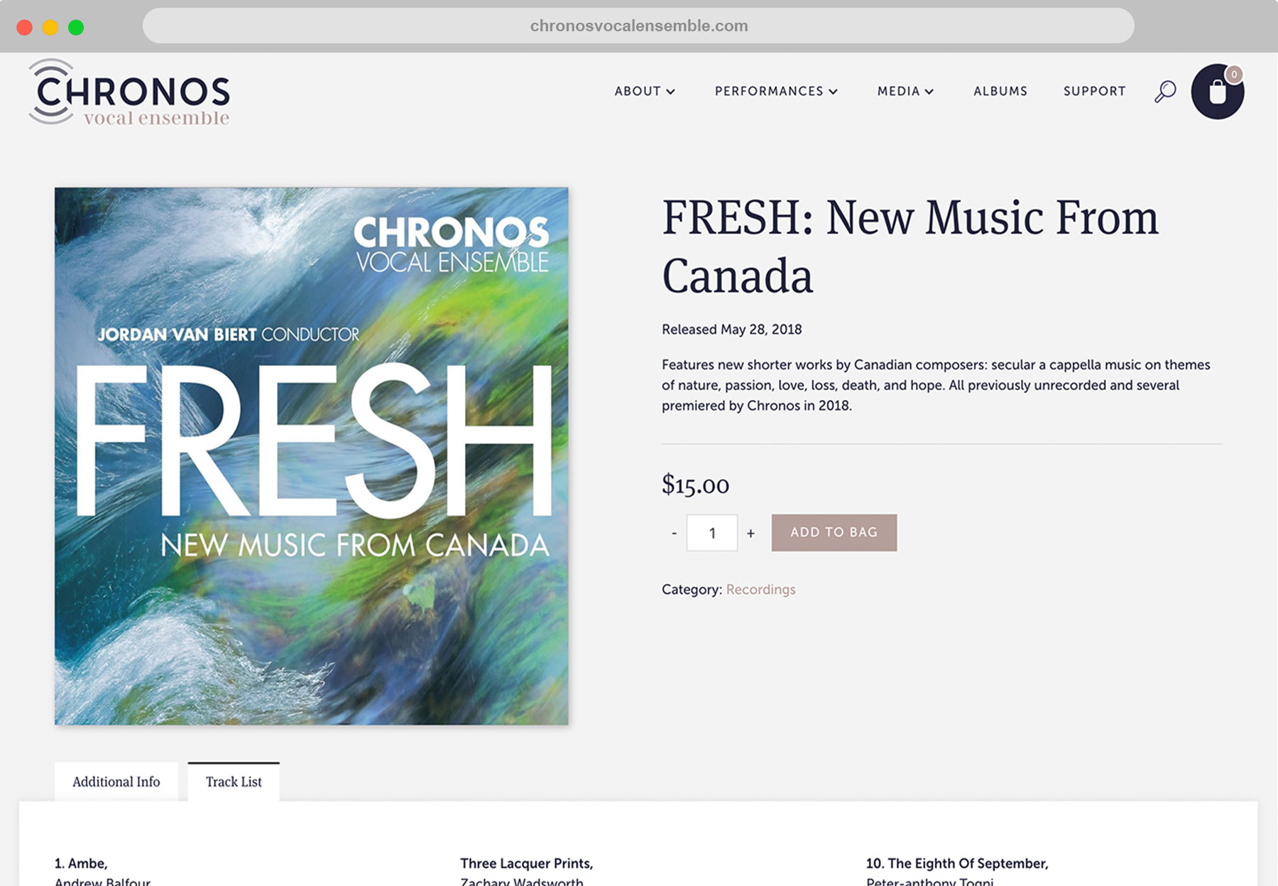 Chronos Safari Shop